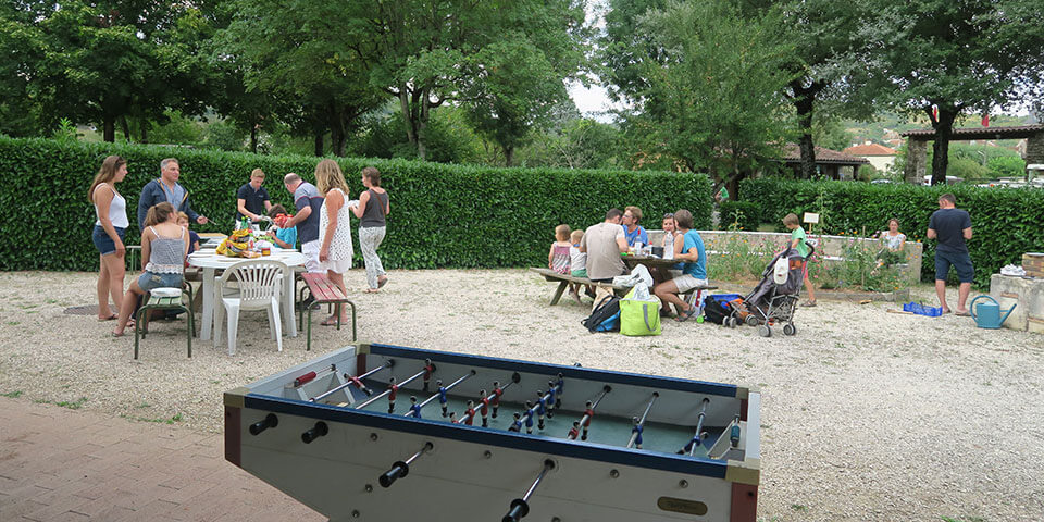 Family activities in camping le Terriol
